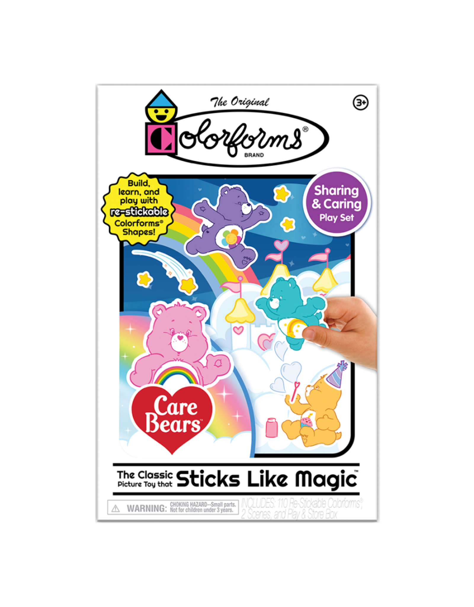 Kahootz Colorforms Play Set - Care Bear