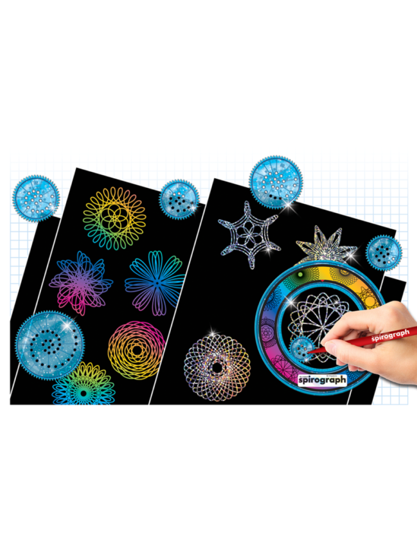 Spirograph Spriograph Scratch and Sparkle