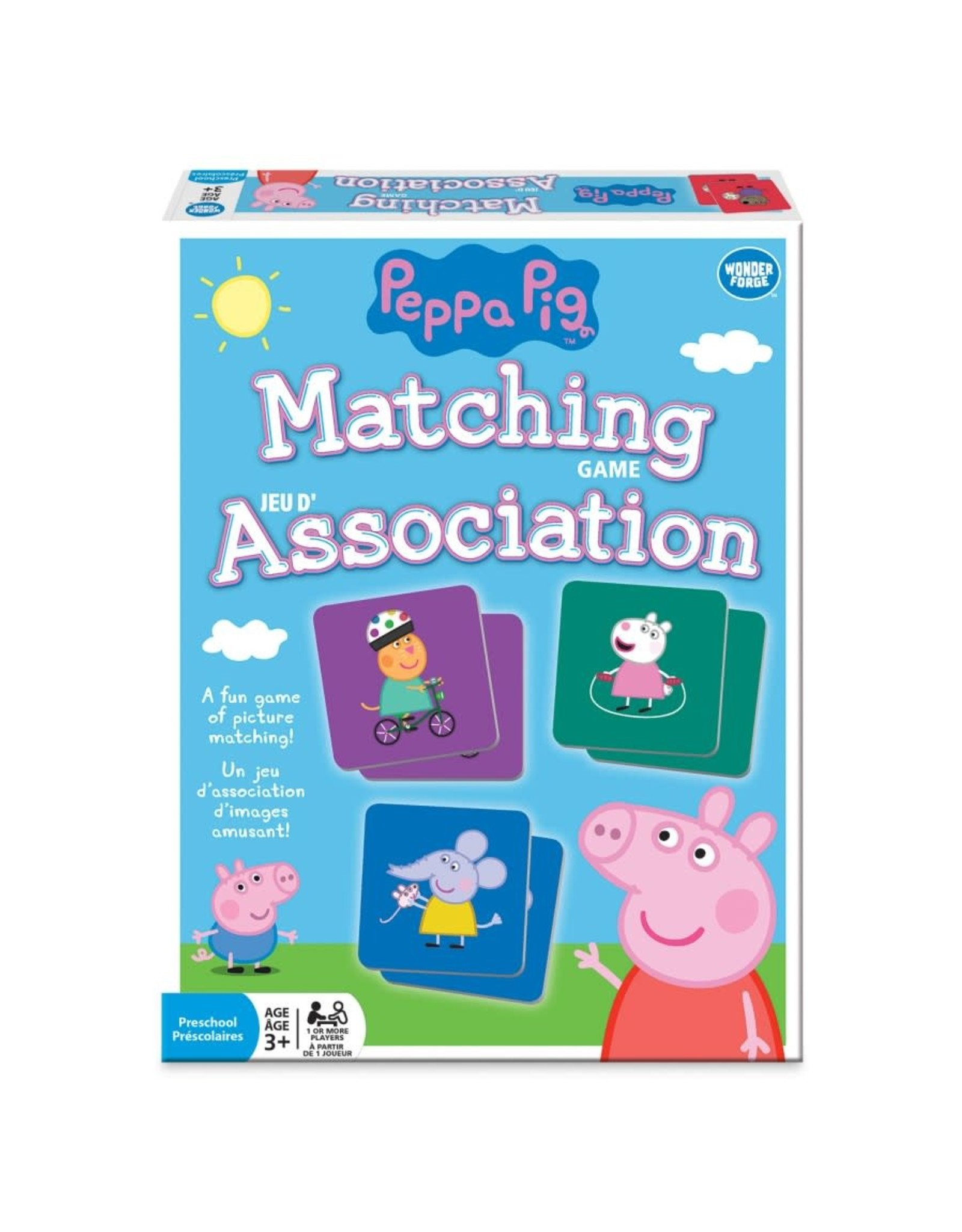 Wonder Forge Matching Card Game - Peppa Pig