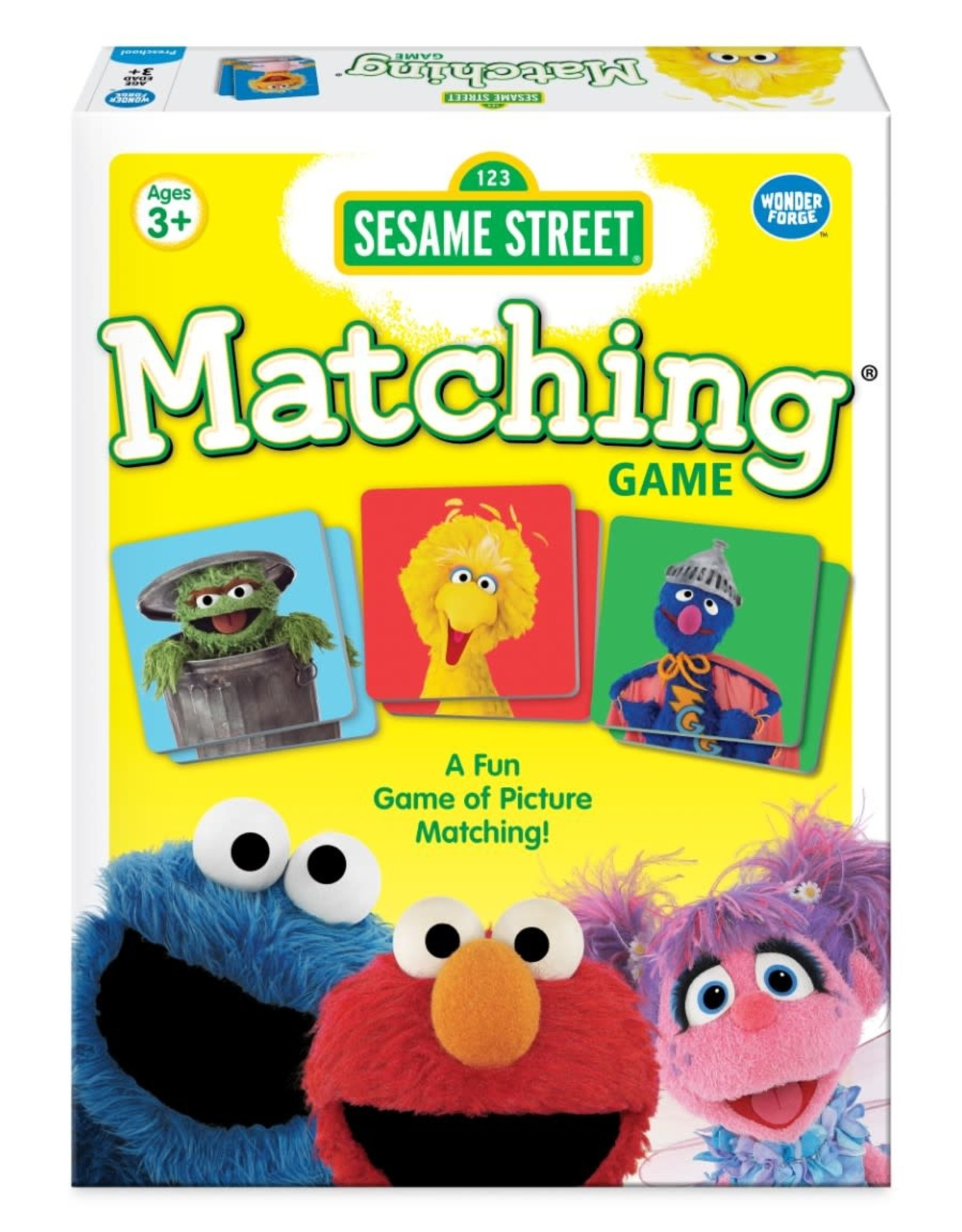 Wonder Forge Matching Card Game - Sesame Street