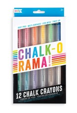 Ooly Chalk-O-Rama Dustless Chalks Sticks - Set of 12