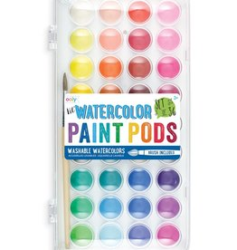 Ooly Lil' Watercolor Paint Pods - 37pc Set