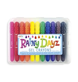 Ooly Rainy Dayz Crayons - Set of 12
