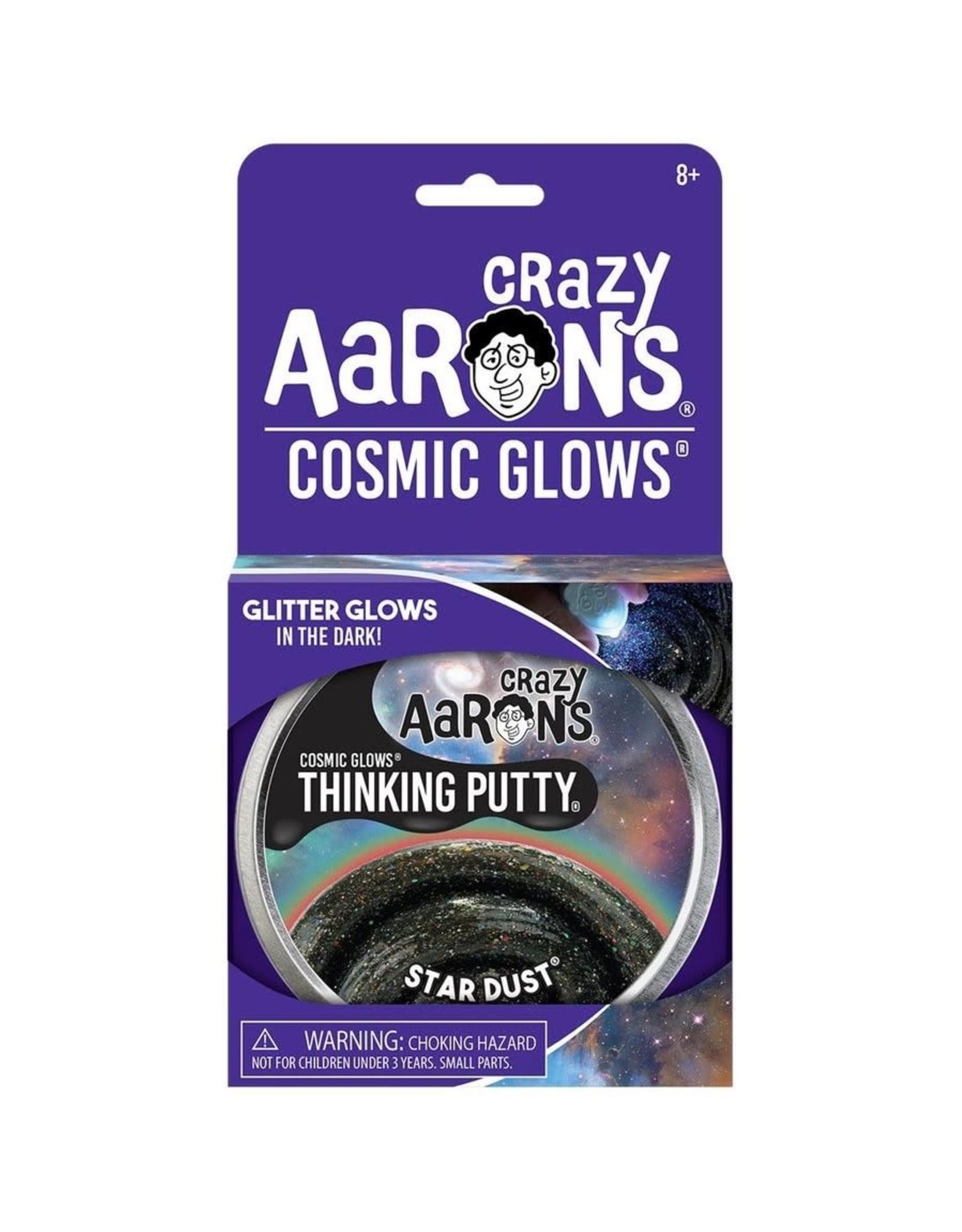 Crazy Aaron's Puttyworld Thinking Putty 4'' Tin - Cosmic Star Dust