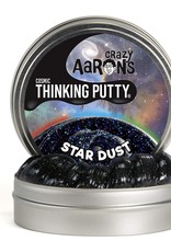 "Crazy Aaron's Puttyworld Crazy Aaron's Putty - Cosmic Star Dust 4"" Tin"