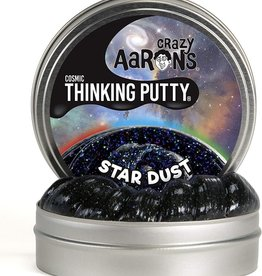 Crazy Aaron's Puttyworld Thinking Putty 4'' Tin - Cosmic Star Dust
