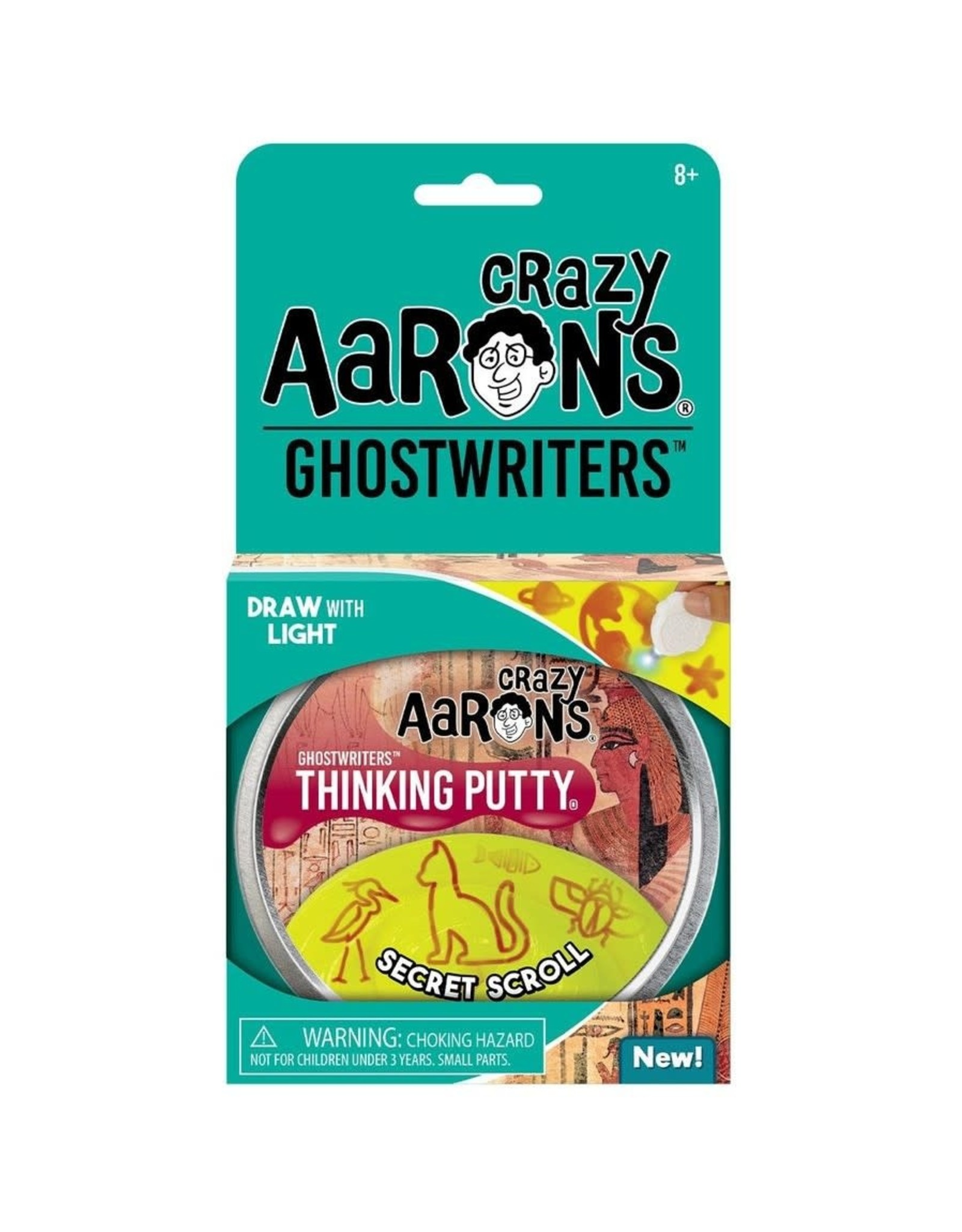 "Crazy Aaron's Puttyworld Crazy Aaron's Putty- Secret Scroll 4"" Tin"