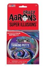 Crazy Aaron's Puttyworld Thinking Putty 4'' Tin - Illusion Super Scarab