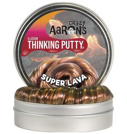 Crazy Aaron's Puttyworld Thinking Putty 4'' Tin - Illusion Super Lava