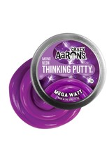 "Crazy Aaron's Puttyworld Crazy Aaron's Putty - Neon Mega Watt 2"" Tin"