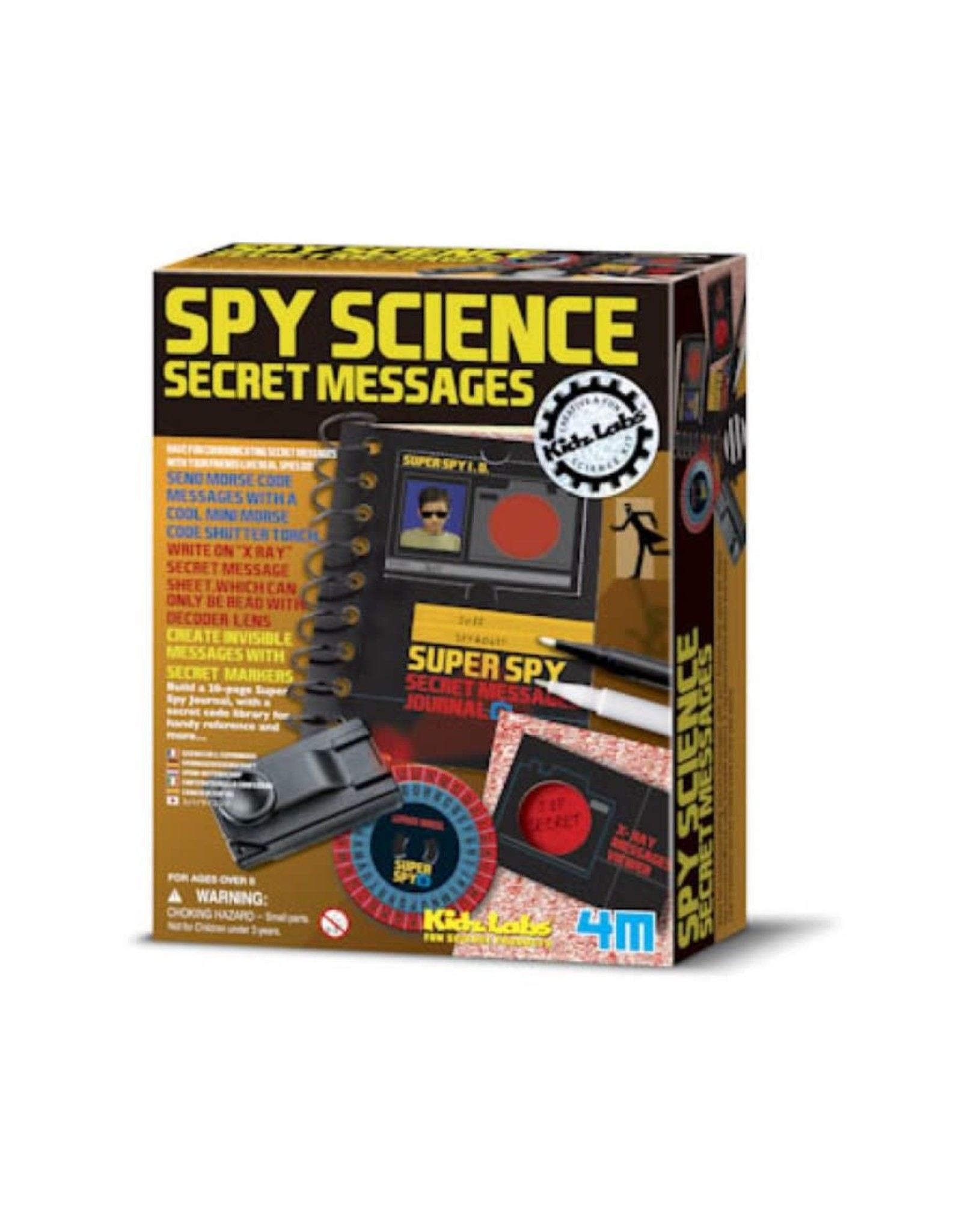 4M 4M Spy Science