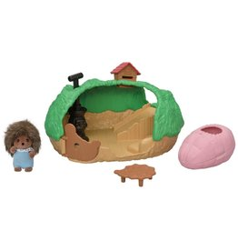 Calico Critters CC Baby Hedgehog Hideout