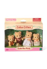 Calico Critters CC Cuddle Bear Family