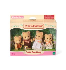 Calico Critters CC Cuddle Bear Family