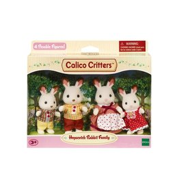 Calico Critters CC Hopscotch Rabbit Family