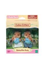 Calico Critters CC Splashy Otter Family