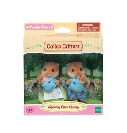 Calico Critters CC Splashy Otter Family