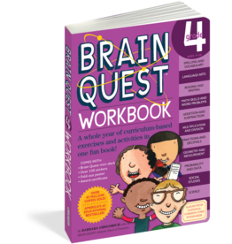 Brain Quest Brain Quest Workbook - Grade 4