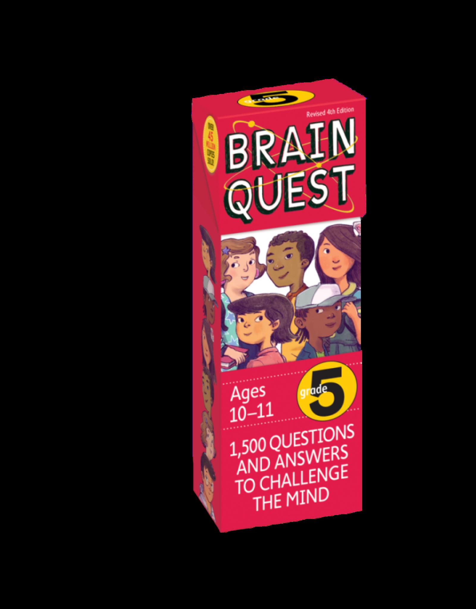Brain Quest Brain Quest Cards - Grade 5 (Ages 10-11)