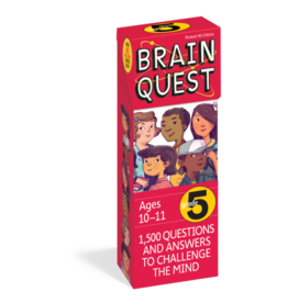 Brain Quest Brain Quest Cards - Grade 5 (Ages 10-11)