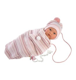 "Llorens Llorens -  Emma 11"" Soft Body Crying Baby Doll"
