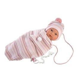 "Llorens Llorens -  Emma 11"" Soft Body Crying Baby Doll"