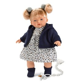 "Llorens Llorens -  Melissa 13"" Soft Body Crying Baby Doll"