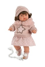 "Llorens Llorens - Vivvie 15"" Soft Body Crying Baby Doll"