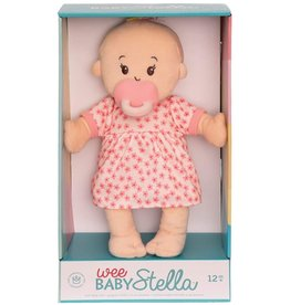 Manhattan Toy Baby Stella Doll Peach with Blonde Hair