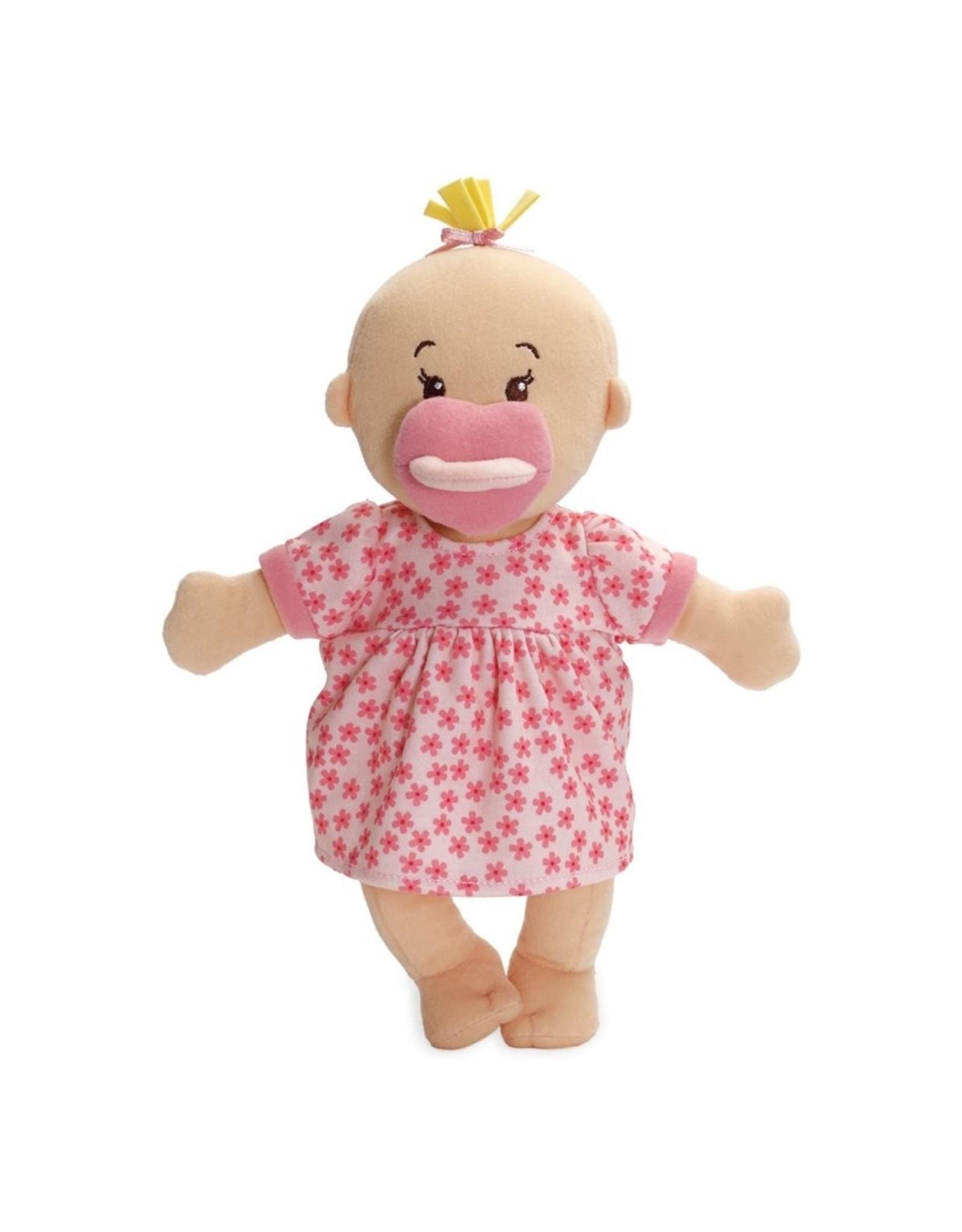 Manhattan Toy Baby Stella Doll Peach with Blonde Hair