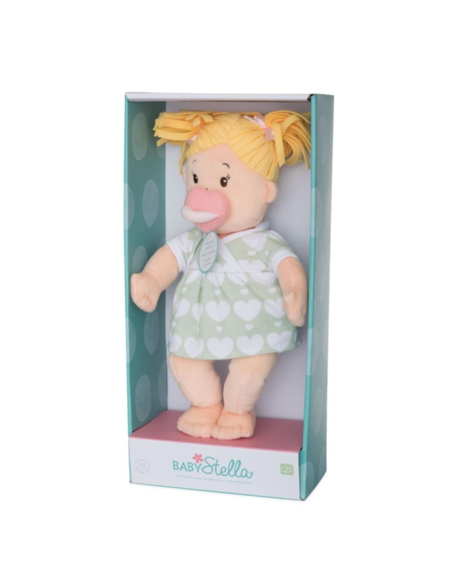 Manhattan Toy Baby Stella Blonde Pigtails