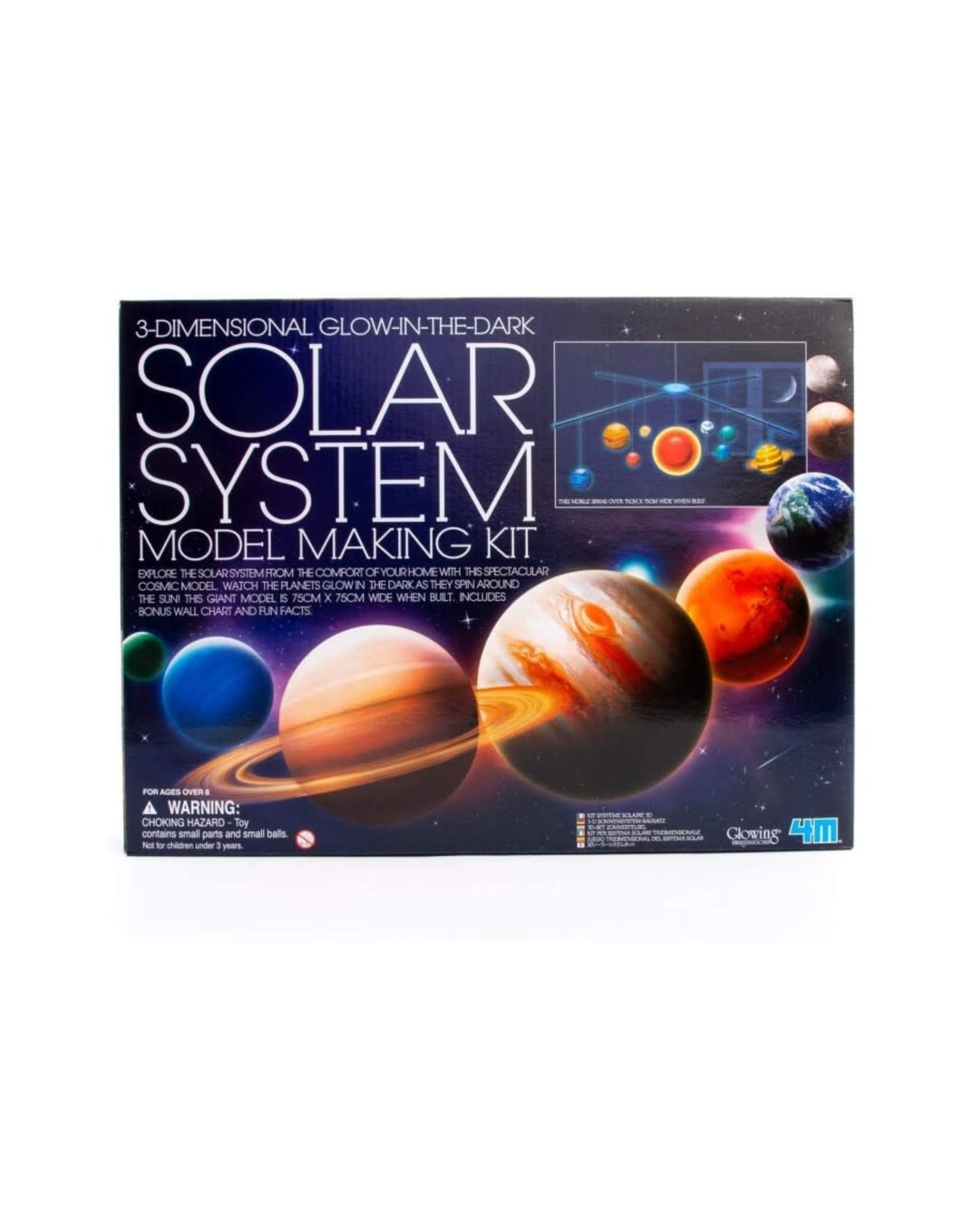 4M 4M 3D Glow Solar System Model Making Kit