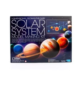 4M 4M 3D Glow Solar System Model Making Kit