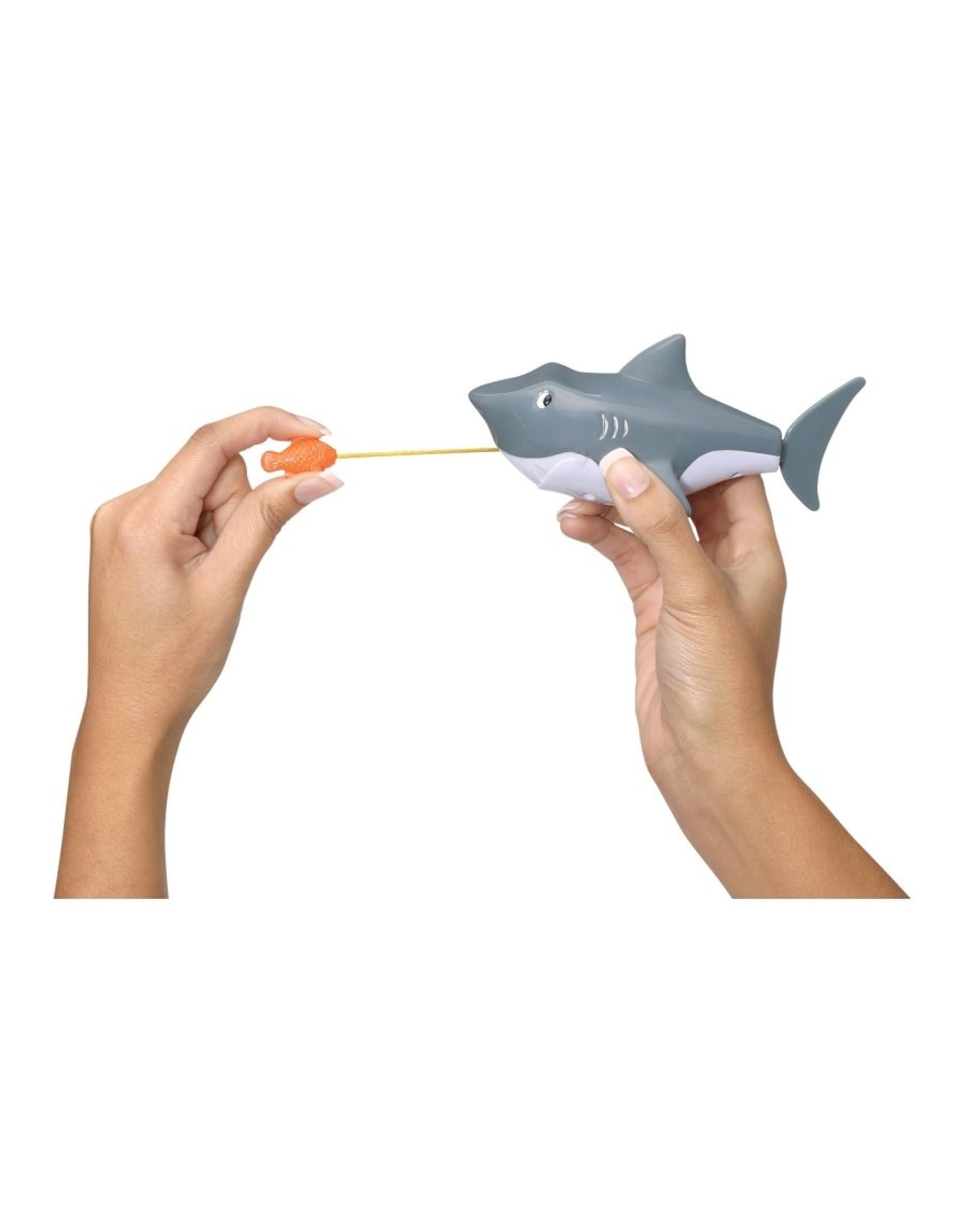Toysmith Pull-String Shark Bath Toy