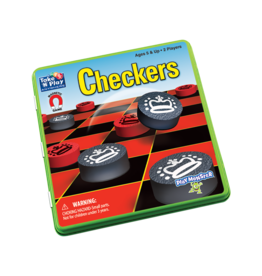 Playmonster Take 'N' Play - Checkers