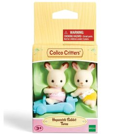 Calico Critters CC Hopscotch Rabbit Twins