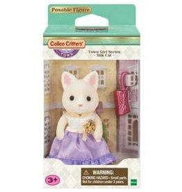 Calico Critters CC Town Girl - Lulu Silk Cat
