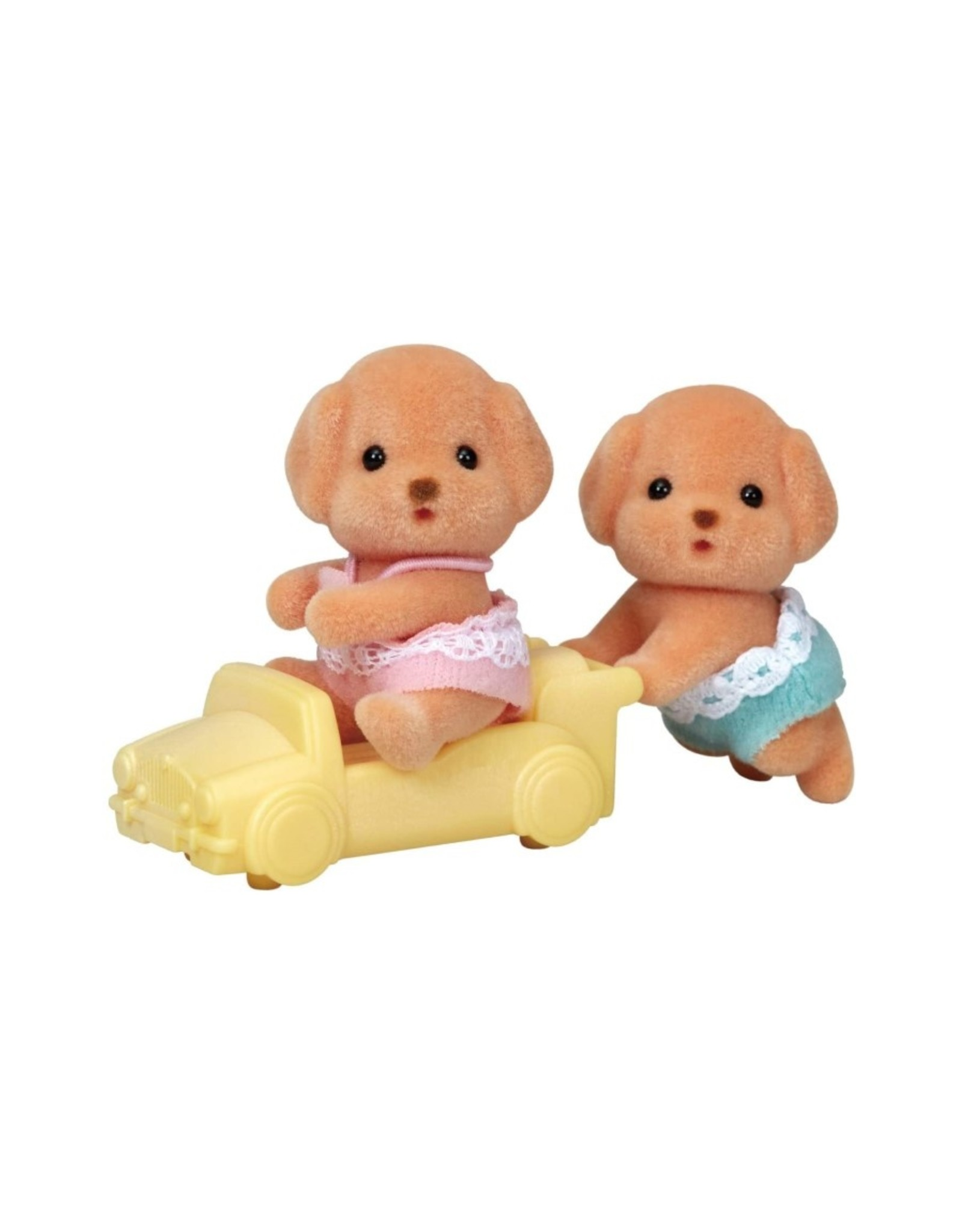Calico Critters CC Toy Poodle Twins