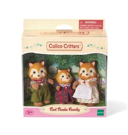 Calico Critters CC Red Panda Family