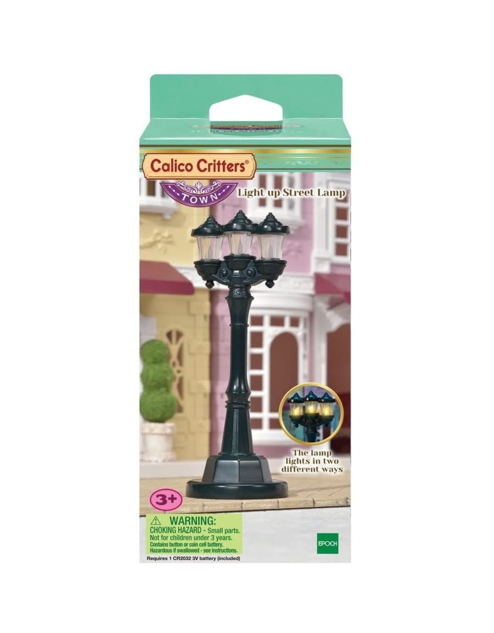 Calico Critters CC Light up Street Lamp