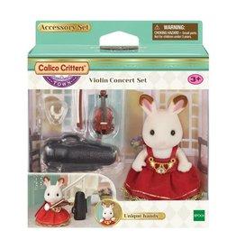 Calico Critters CC Violin Concert Set