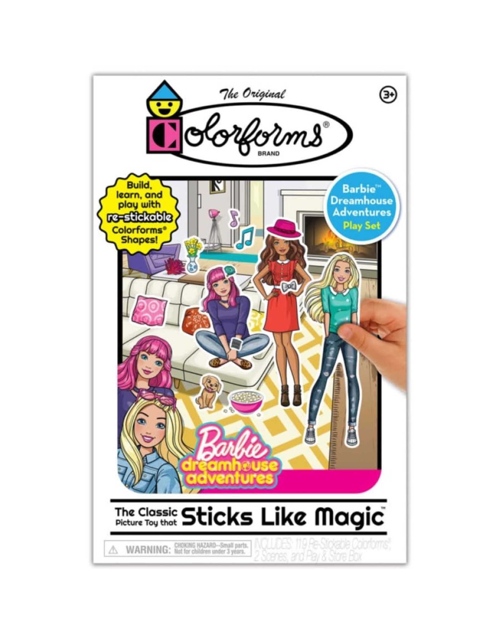Kahootz Colorforms - Barbie