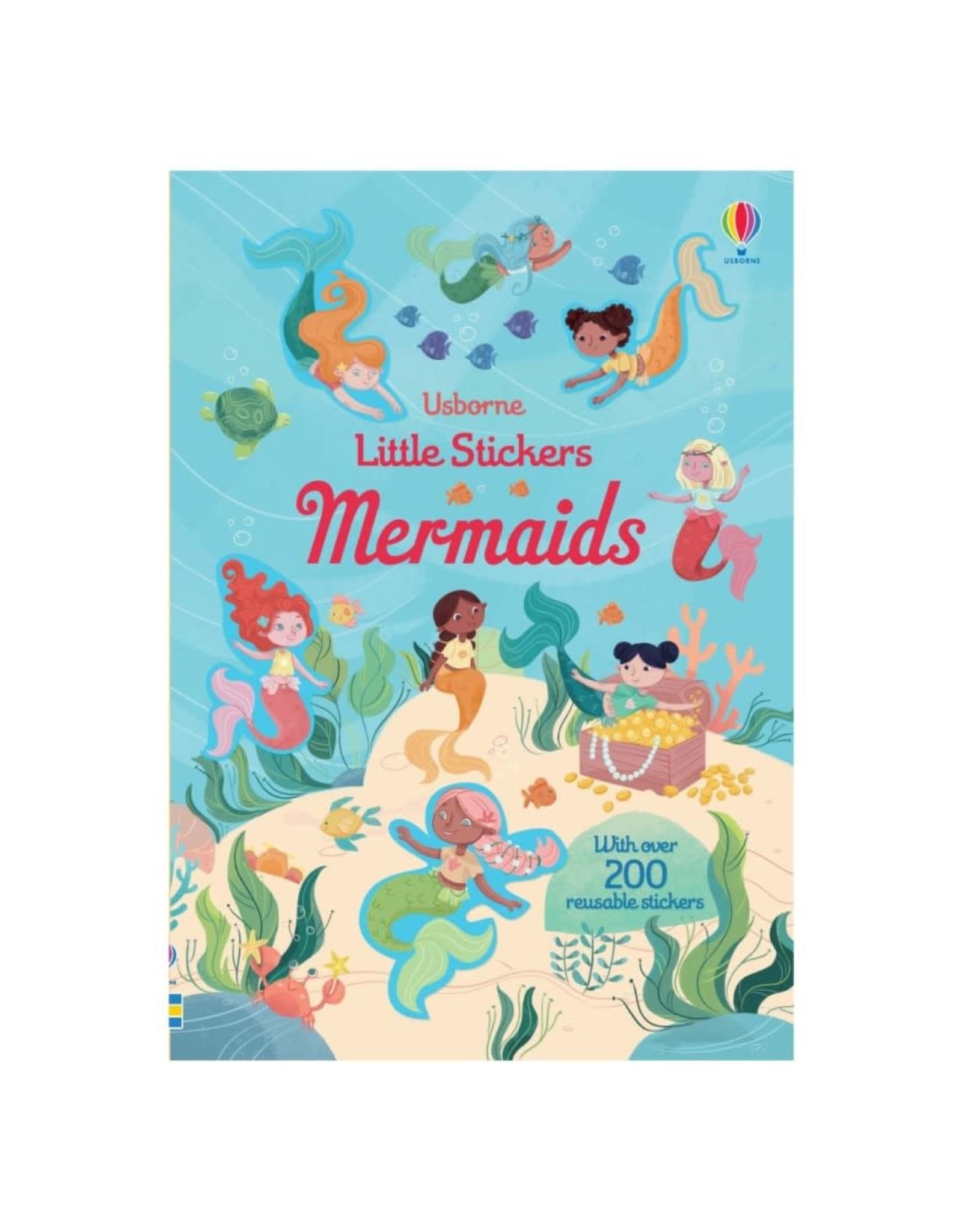Usborne Little Stickers Mermaids