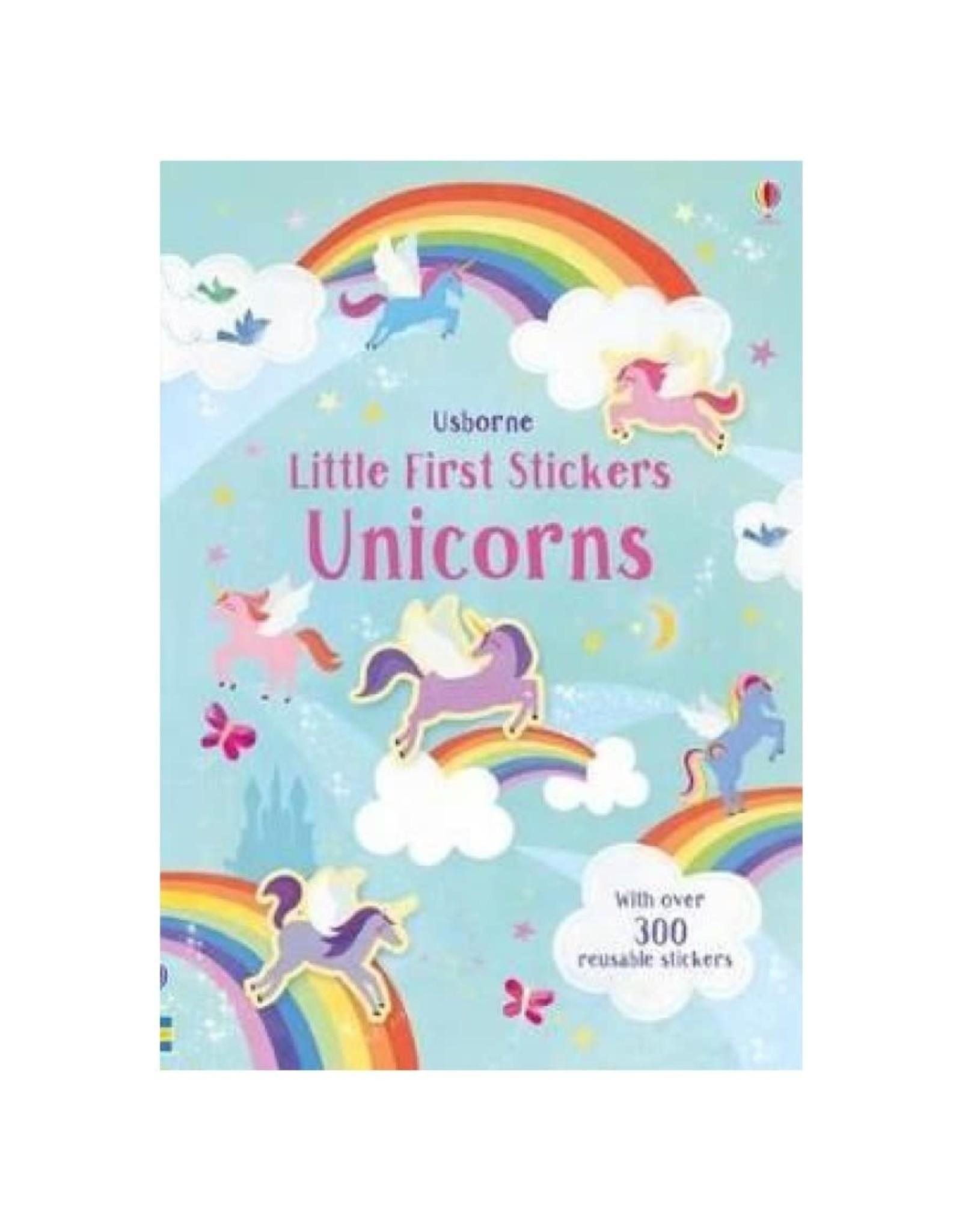 Usborne ''Little Stickers - Unicorns''