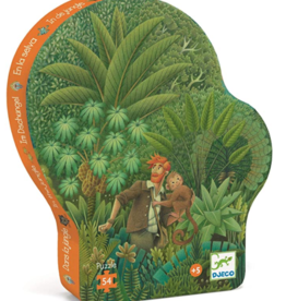 Djeco In the Jungle Silhouette 54pc Puzzle