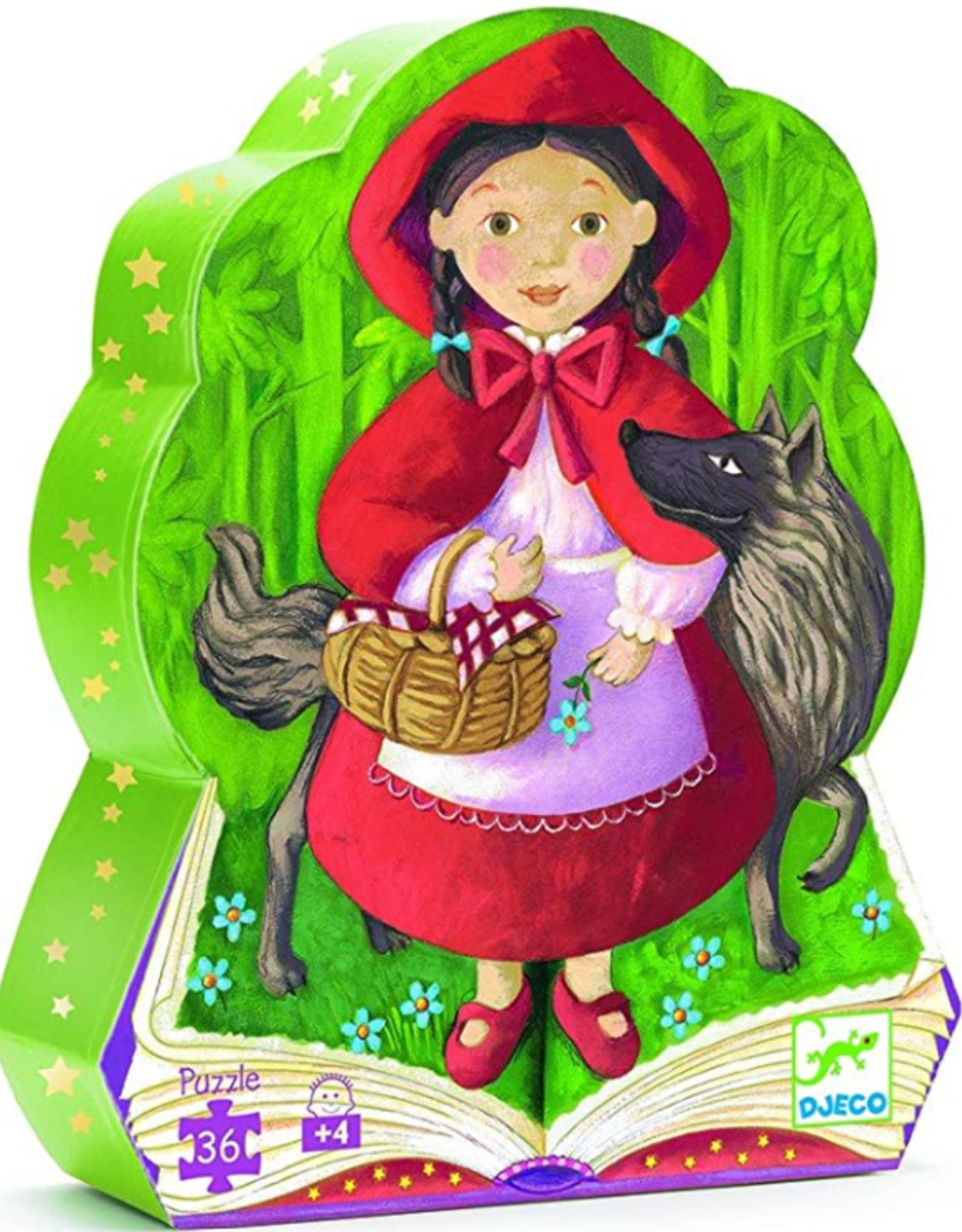 Djeco Little Red Riding Hood 36pc Silhouette Puzzle