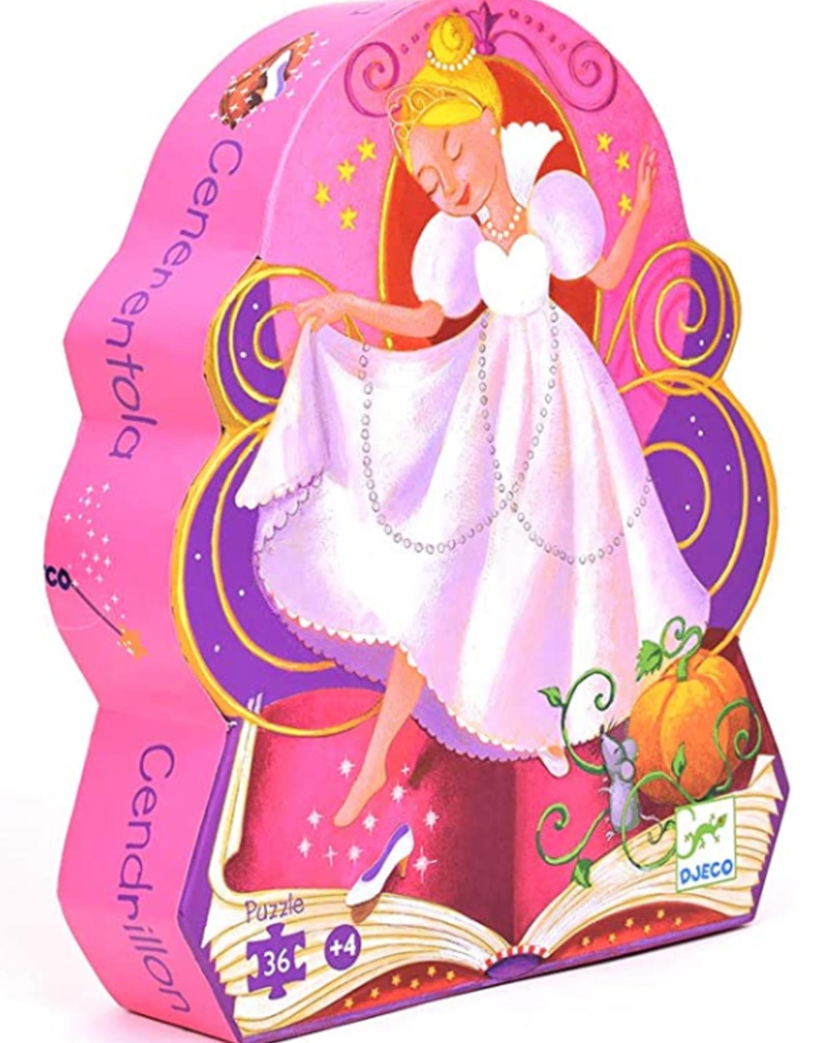 Djeco Cinderella Silhouette 36pc Puzzle