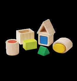 Plan Toys Plan - Geo Matching Blocks