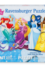 Ravensburger Floor Puzzle 24pc- Disney Pretty Princesses