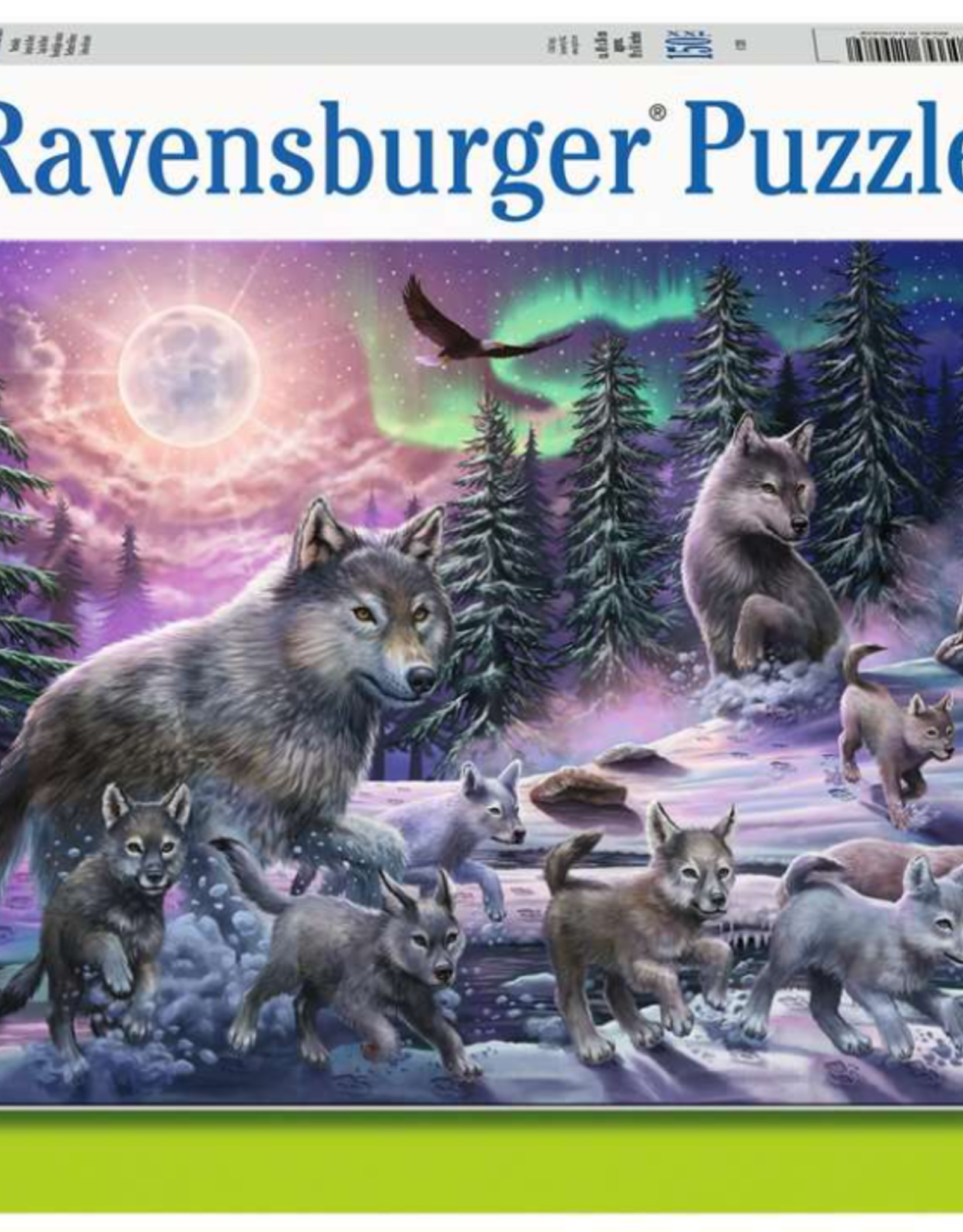 Ravensburger Northern Wolves 150pc Puzzle